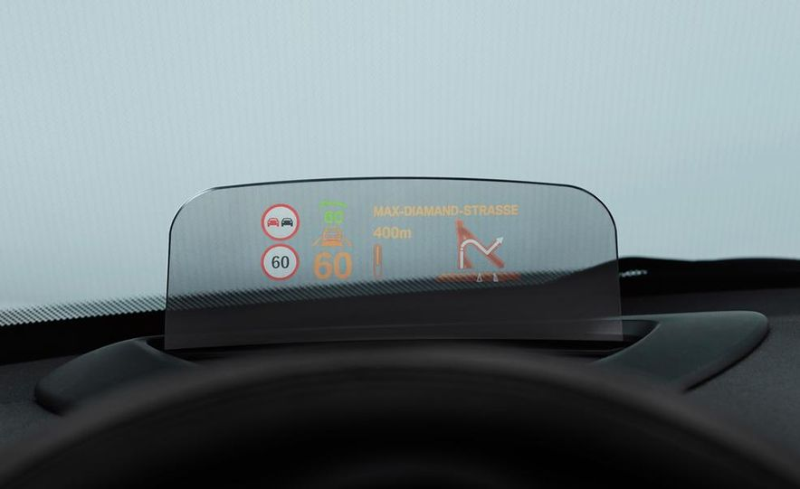 2014 Mini Cooper steering-wheel-mounted controls - Slide 9