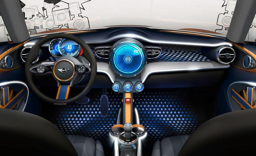 2014 Mini Cooper steering-wheel-mounted controls - Slide 16