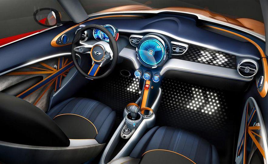 2014 Mini Cooper steering-wheel-mounted controls - Slide 17