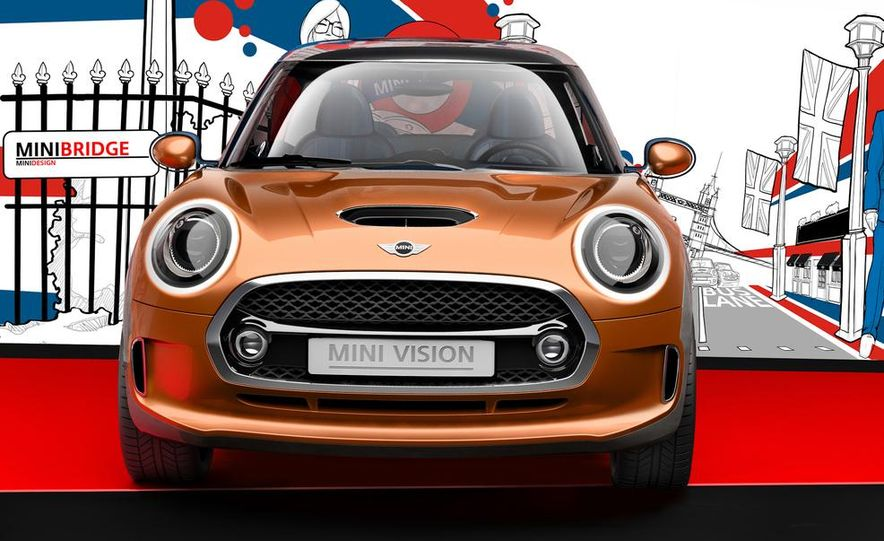 2014 Mini Cooper steering-wheel-mounted controls - Slide 11
