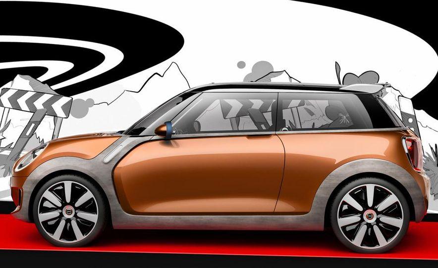 2014 Mini Cooper steering-wheel-mounted controls - Slide 12