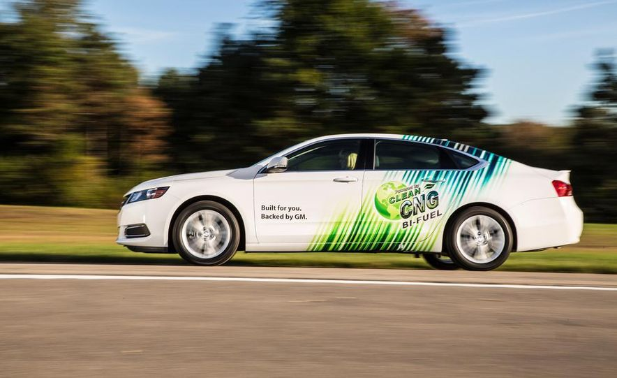 2015 Chevrolet Impala Bi-Fuel Gasoline/CNG-Capable - Slide 1