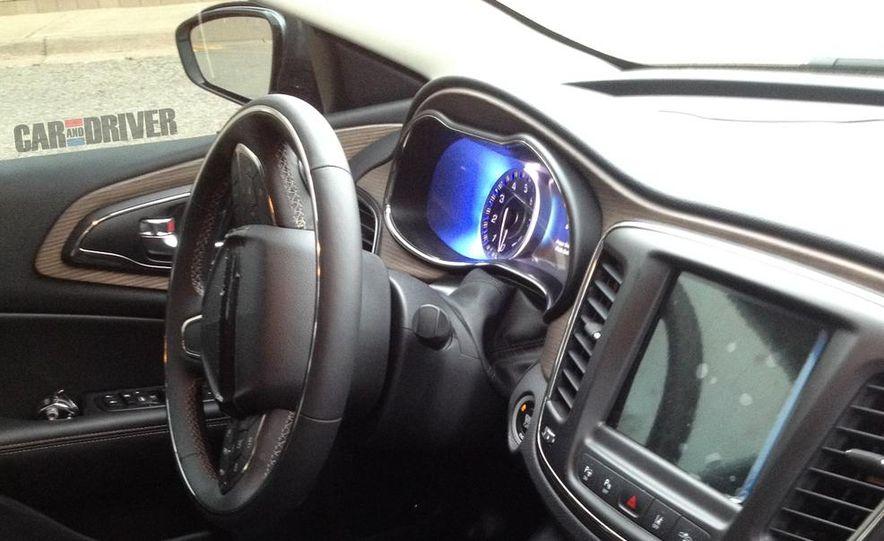 2015 Chrysler 200 interior (spy photo) - Slide 1