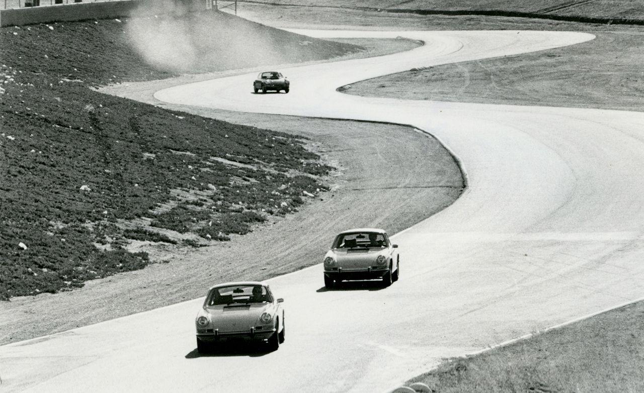 1972 Porsche 911 T Coupe vs. 911 E Targa, 911 S Coupe