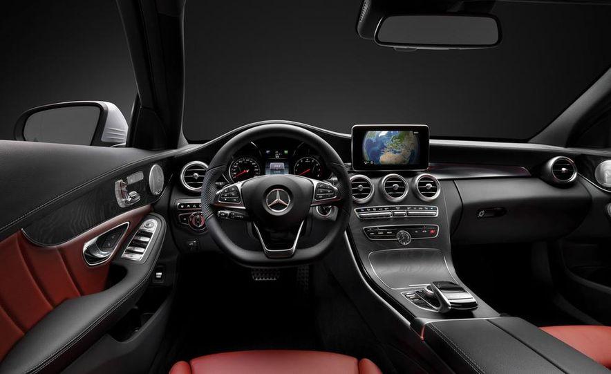 2015 mercedes benz c class interior - 2015 Mercedes Benz Interior