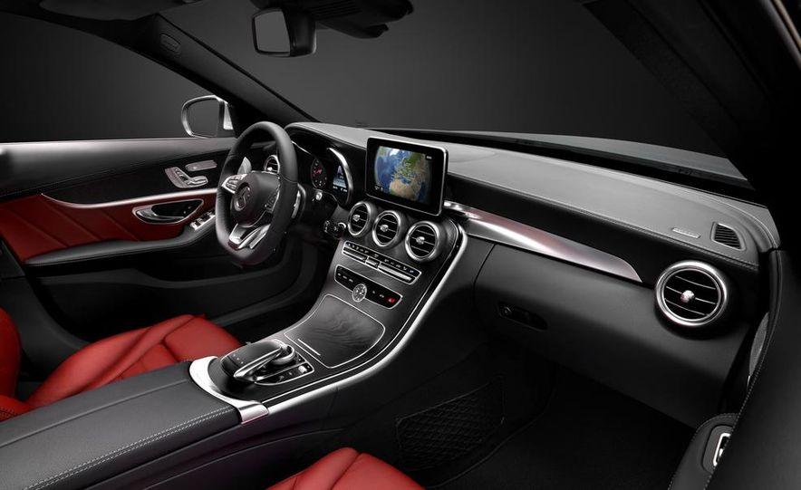 2015 mercedes benz c class interior slide 2