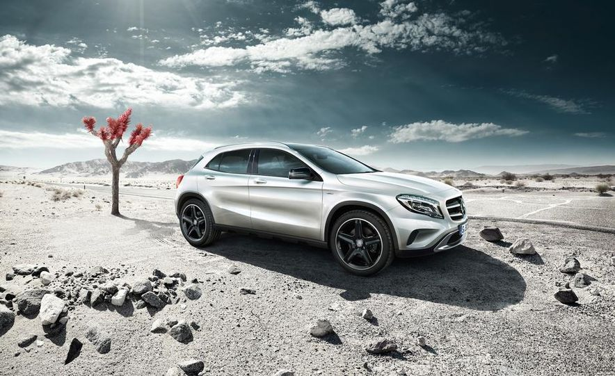 Mercedes-Benz GLA Edition 1 - Slide 1