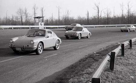 1969 Porsche 912 vs. 911T Targa, 911E, 911S
