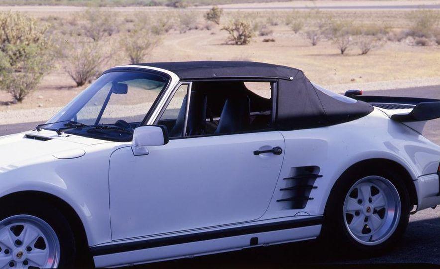 Porsche 911 Turbo Cabriolet Slant Nose - Slide 9