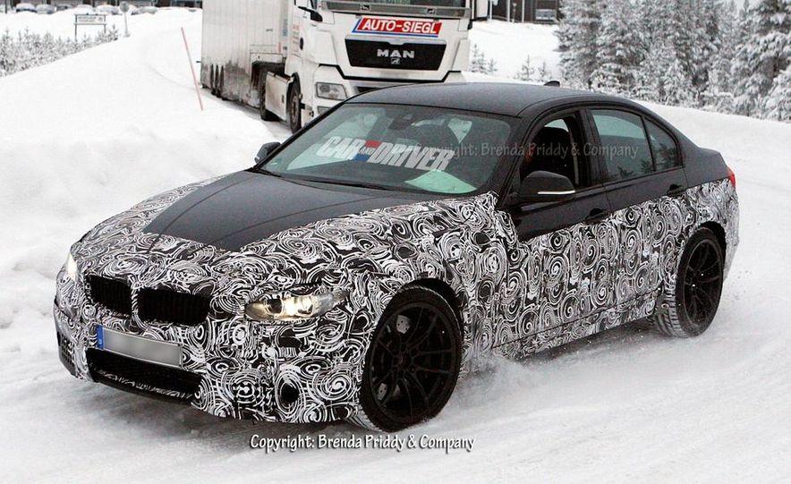 2015 BMW M3 sedan (spy photo) - Slide 10