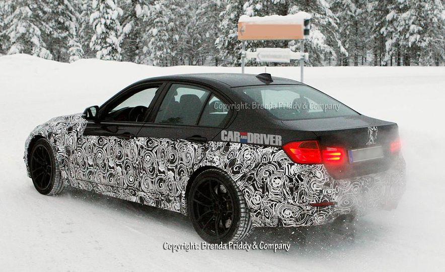 2015 BMW M3 sedan (spy photo) - Slide 12