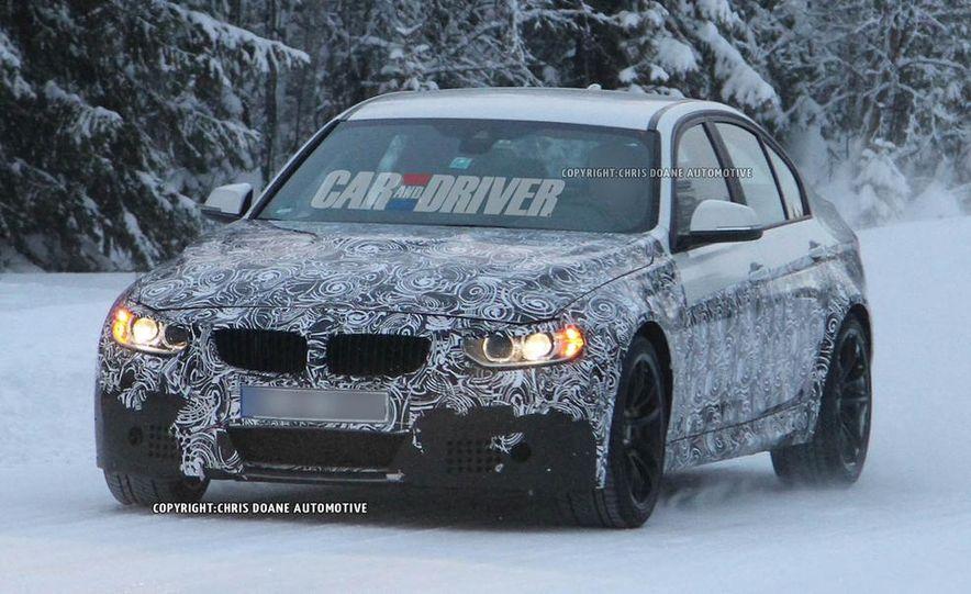 2015 BMW M3 sedan (spy photo) - Slide 15