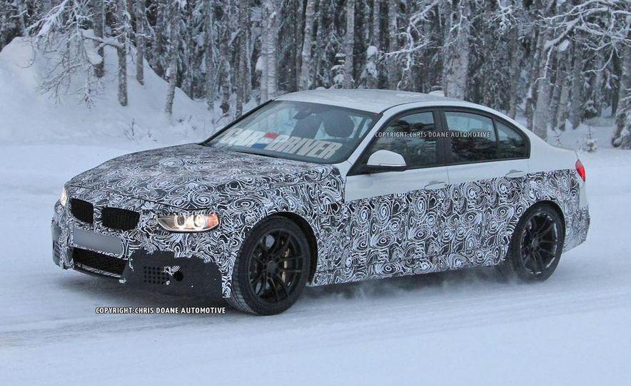 2015 BMW M3 sedan (spy photo) - Slide 17