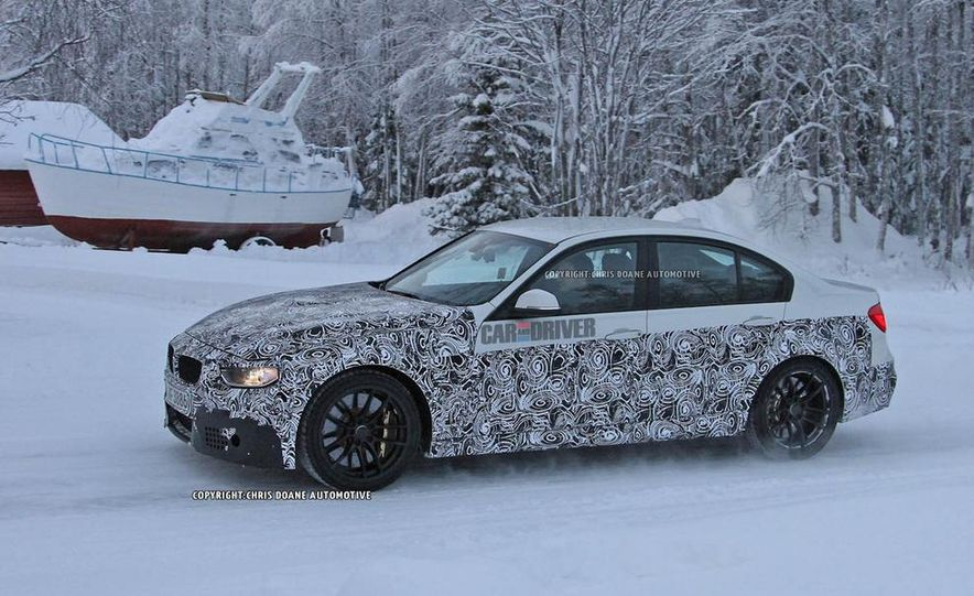 2015 BMW M3 sedan (spy photo) - Slide 18