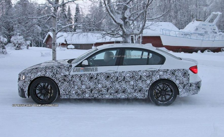 2015 BMW M3 sedan (spy photo) - Slide 19