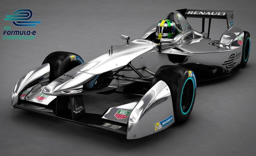 Spark-Renault SRT_01E Formula E race car - Slide 23