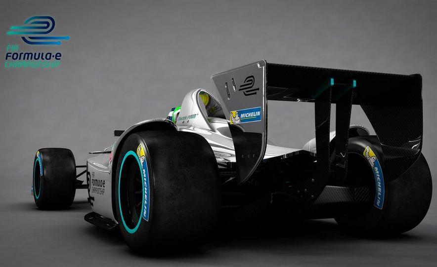 Spark-Renault SRT_01E Formula E race car - Slide 24
