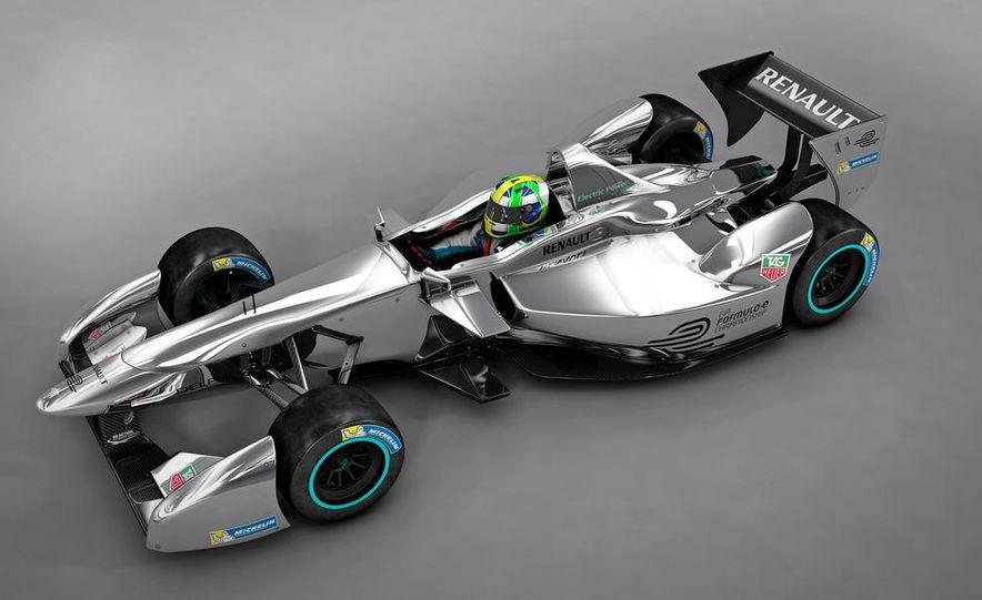 Spark-Renault SRT_01E Formula E race car - Slide 25