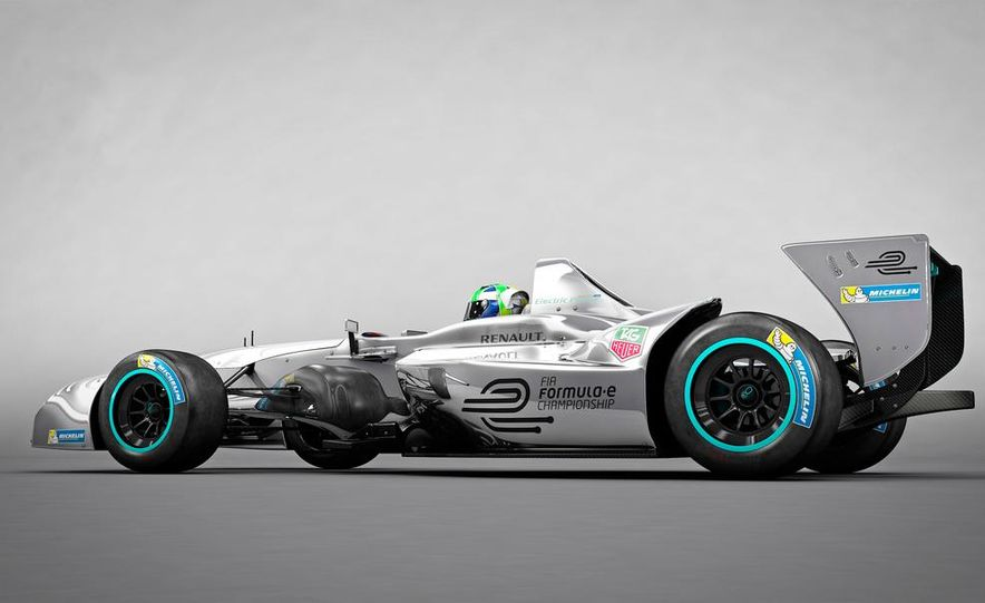 Spark-Renault SRT_01E Formula E race car - Slide 26