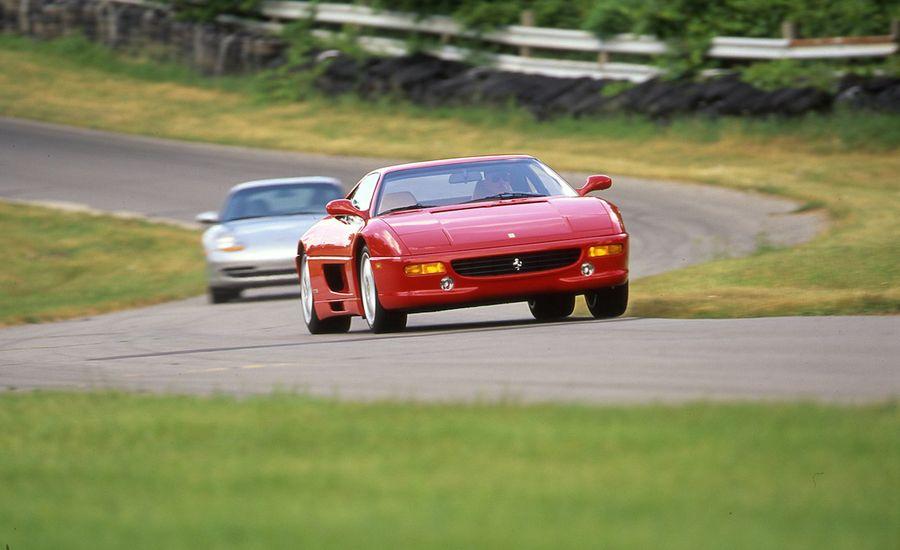 1999 Porsche 911 Carrera Tiptronic S vs. 1999 Ferrari F355 F1