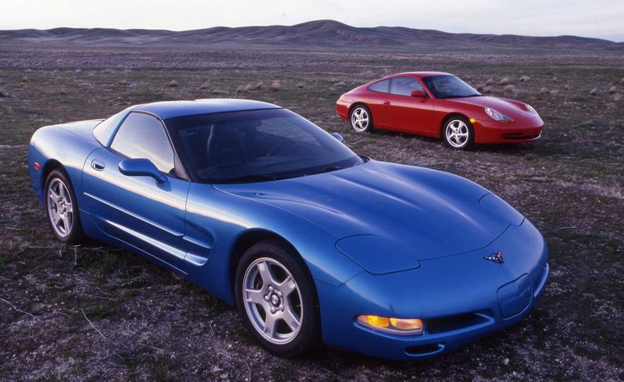 Chevrolet Corvette and Porsche 911 Carrera - Slide 2