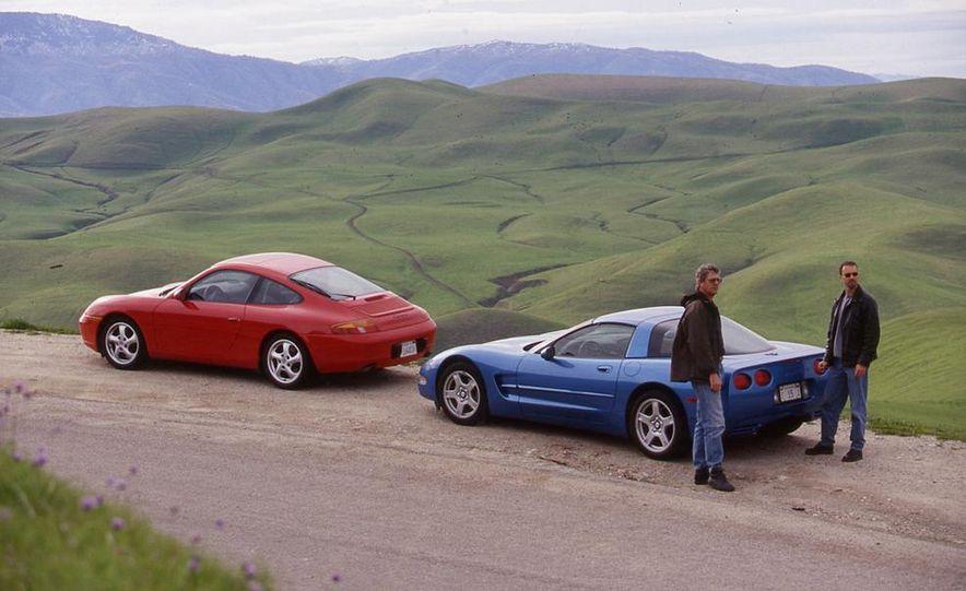 Chevrolet Corvette and Porsche 911 Carrera - Slide 3