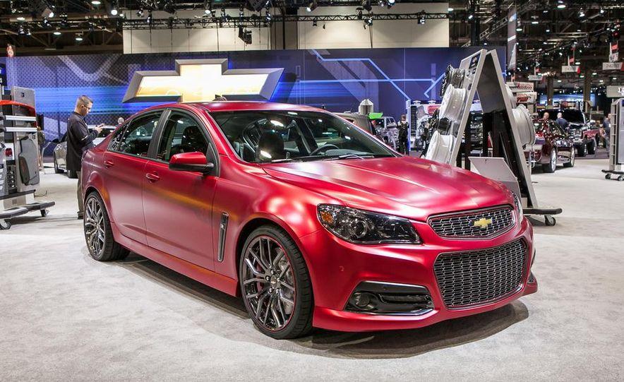 Jeff Gordon Chevrolet SS Performance concept - Slide 1