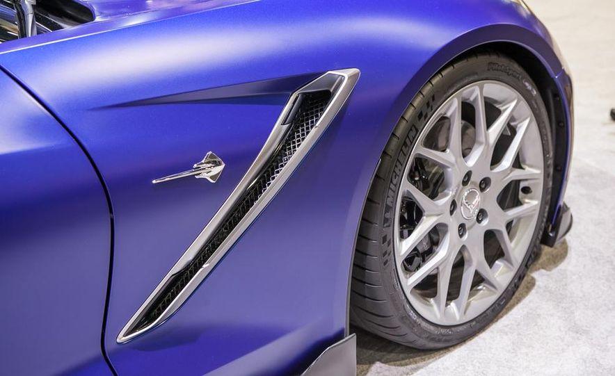 Chevrolet Corvette Stingray Convertible Atlantic Concept - Slide 15