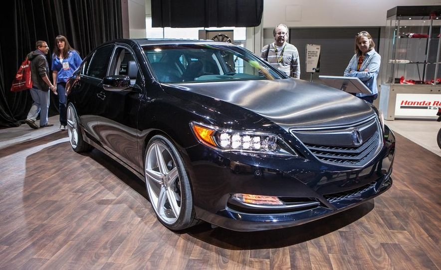 2014 Acura RLX Urban Luxury Sedan - Slide 1