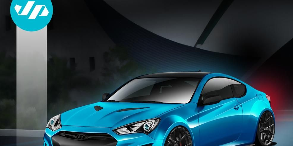 Hyundai Brings Another Modded Genesis Coupe to Vegas [2013 SEMA Show]