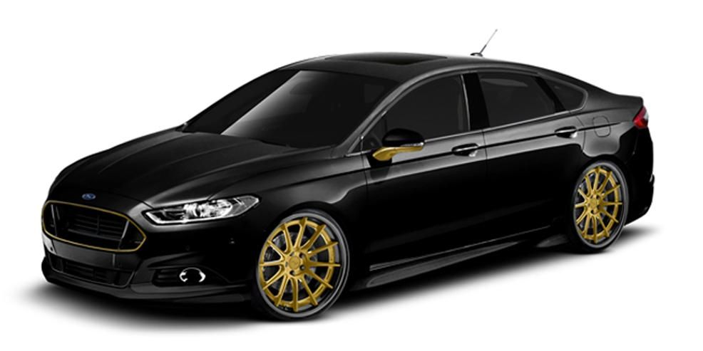 Fusing Style and Power: Customized Ford Fusions for SEMA [2013 SEMA Show]