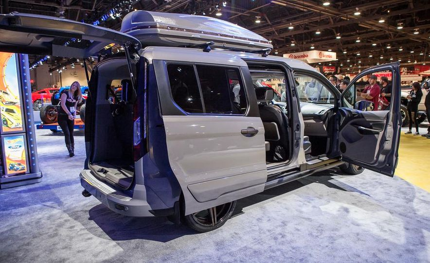 Ford Transit Connect by CGS Motorsports - Slide 11