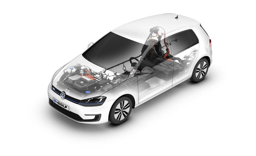 2015 Volkswagen e-Golf - Slide 19