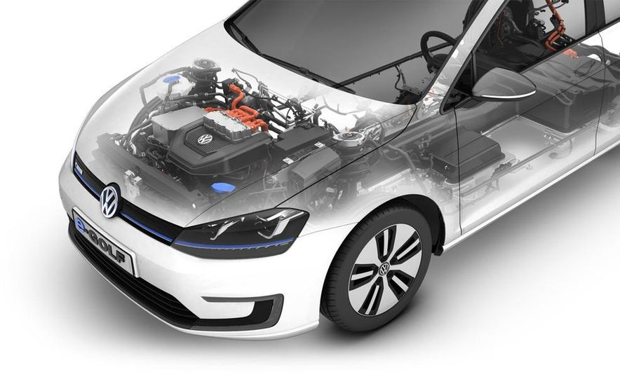 2015 Volkswagen e-Golf - Slide 21