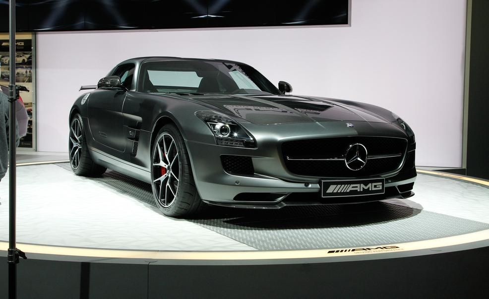 2015 mercedes benz sls amg gt final edition