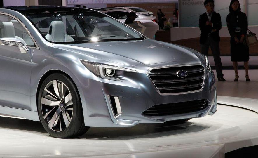 Subaru Legacy concept - Slide 2