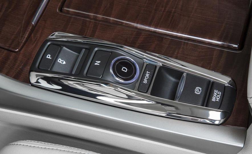 2014 Acura RLX Sport SH-AWD hybrid - Slide 32