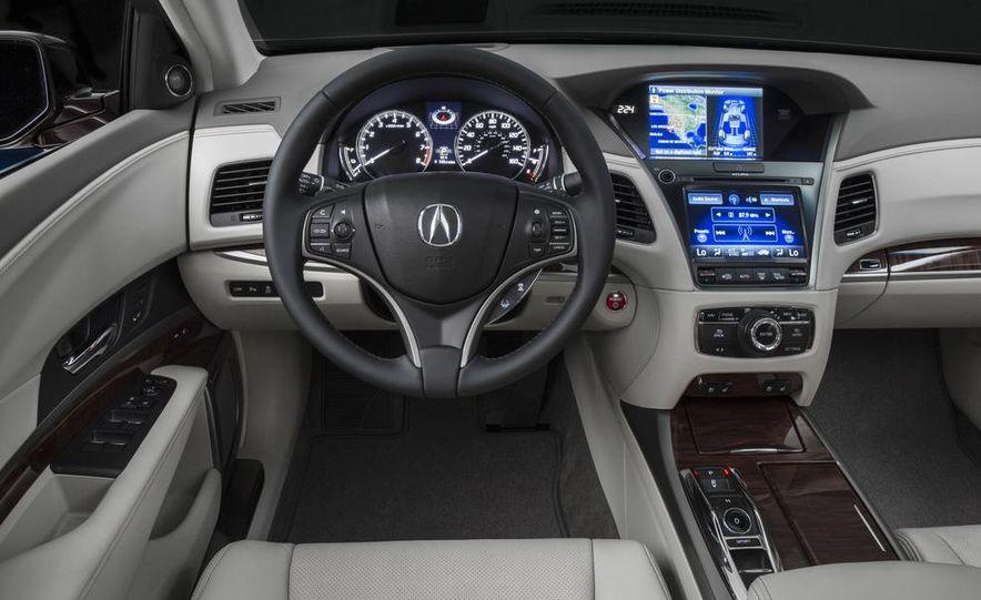 2014 Acura RLX Sport SH-AWD hybrid - Slide 28