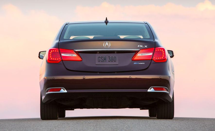 2014 Acura RLX Sport SH-AWD hybrid - Slide 9