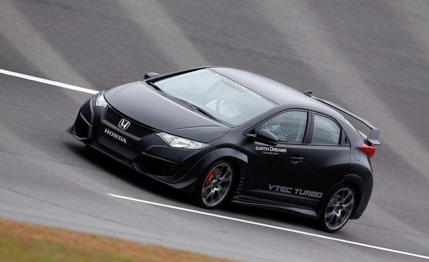 Honda Civic Type R - Slide 1