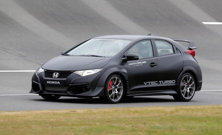 Honda Civic Type R - Slide 5