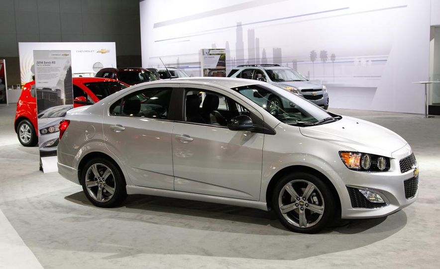 2014 Chevrolet Sonic RS - Slide 1
