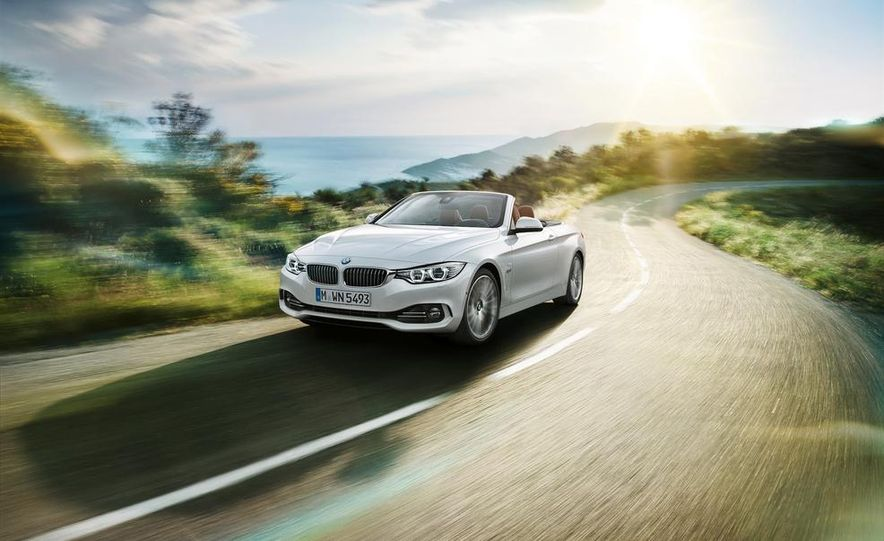 2014 BMW 428i Luxury Line convertible - Slide 1
