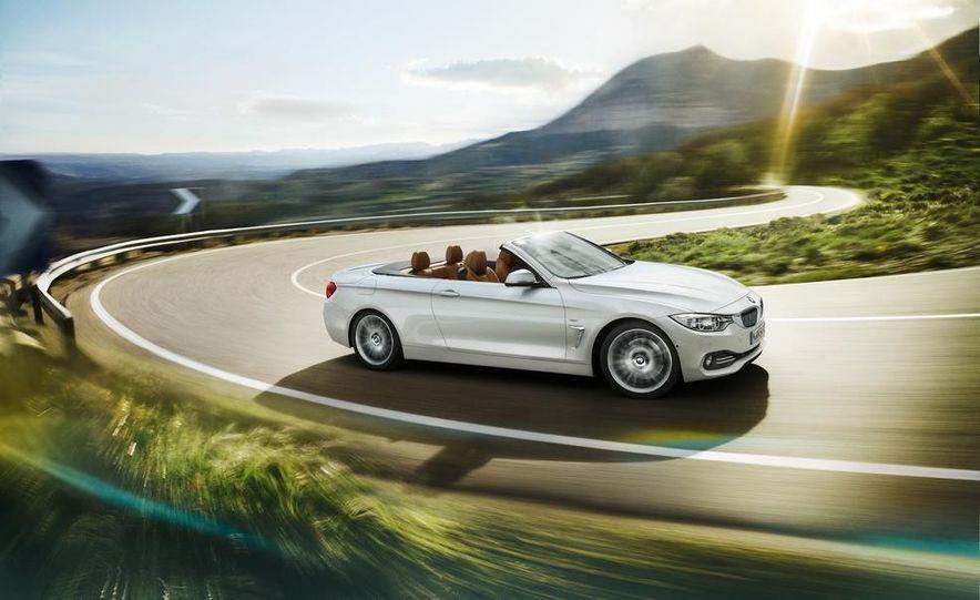 2014 BMW 428i Luxury Line convertible - Slide 3