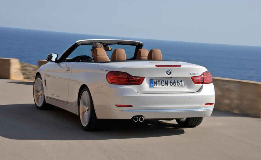 2014 BMW 428i Luxury Line convertible - Slide 10