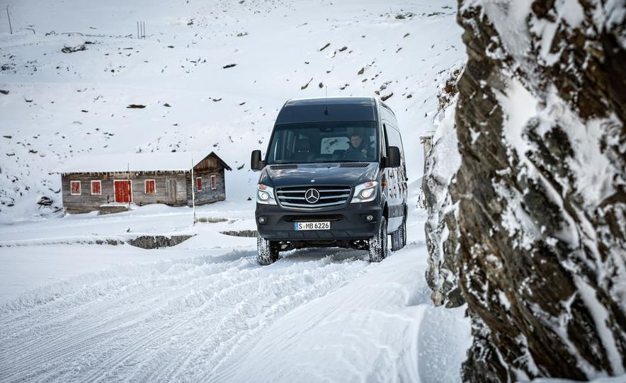 2014 Mercedes-Benz Sprinter 316 BlueTec 4x4 - Slide 1