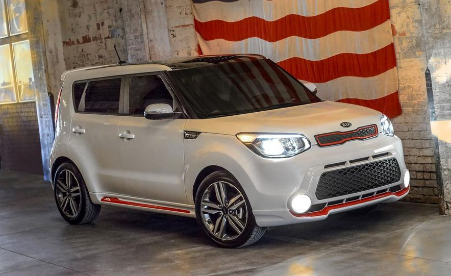 2014 Kia Soul Red Zone Edition Pictures Photo Gallery Car And