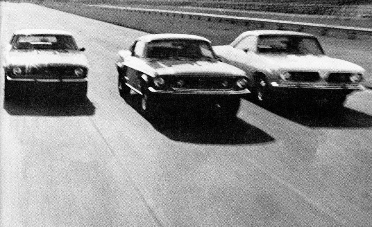 Ford Mustang 6-car Comparo