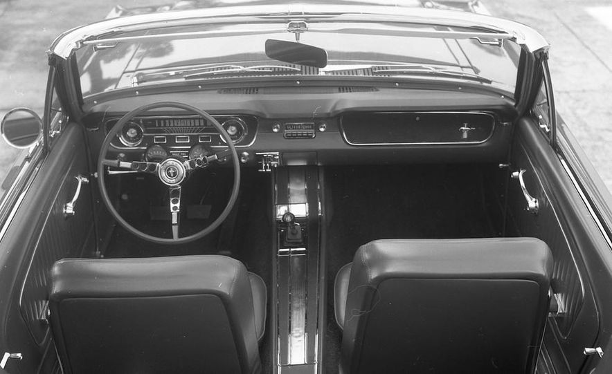 1964-1/2 Ford Mustang convertible - Slide 7