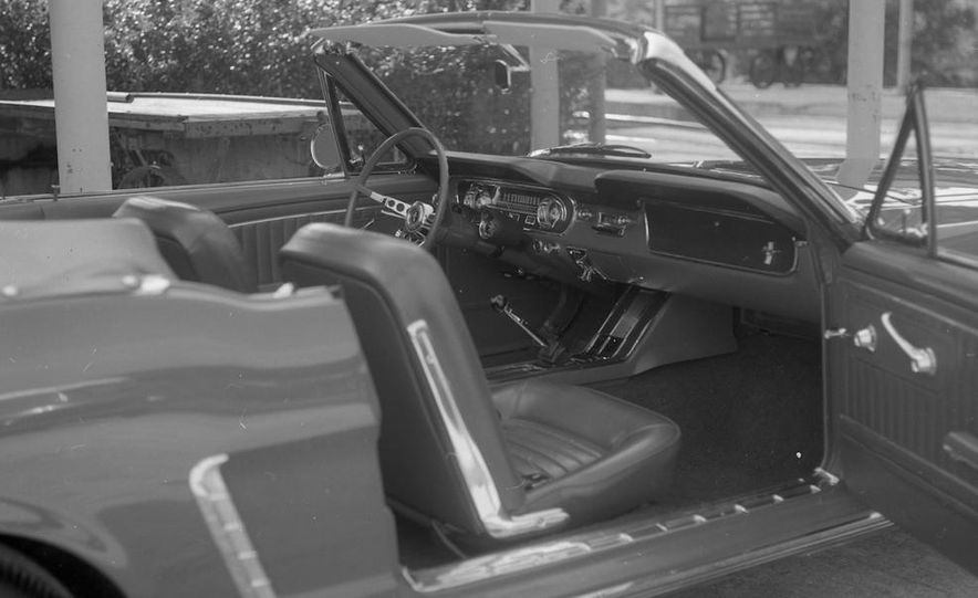 1964-1/2 Ford Mustang convertible - Slide 8